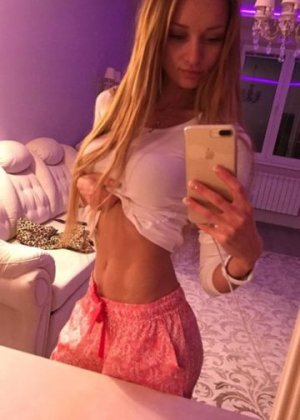Andreline live escort and erotic massage